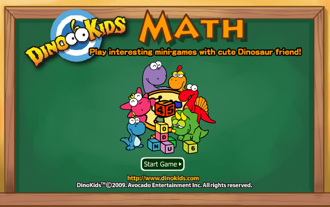 Play dinokids-math